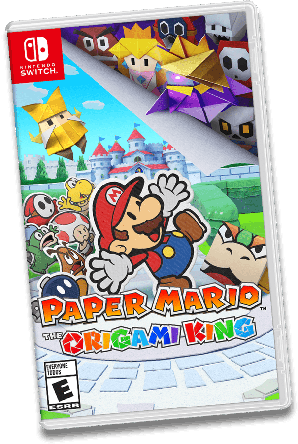 Paper Mario: The Origami King' llega a Nintendo Switch en julio