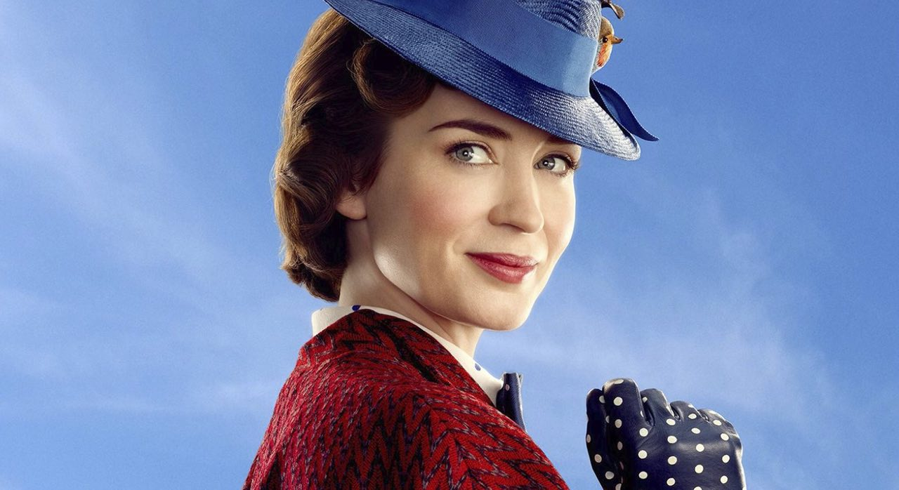 "Emily Blunt y Disney enloquecen internet con el nuevo trailer de ""Mary Poppins: Returns"""